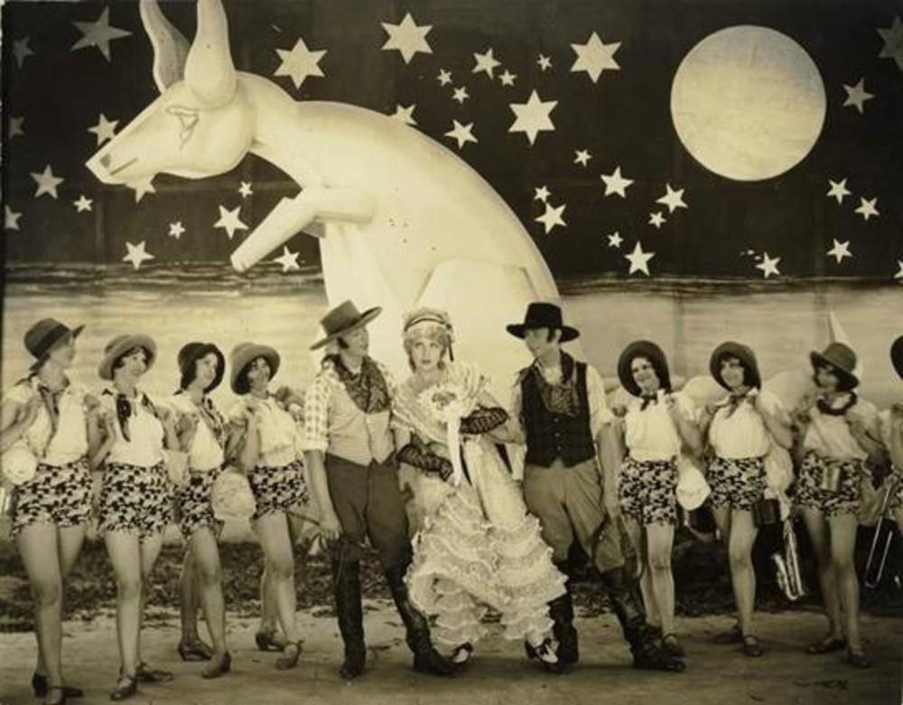 NFSA Screening: Showgirl's Luck (aka Talkie Mad)
