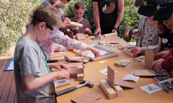 School Holiday Workshop: Curley-style construction