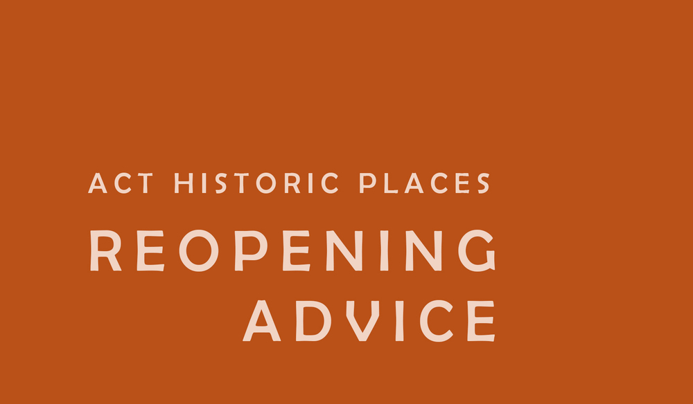 Reopening advice