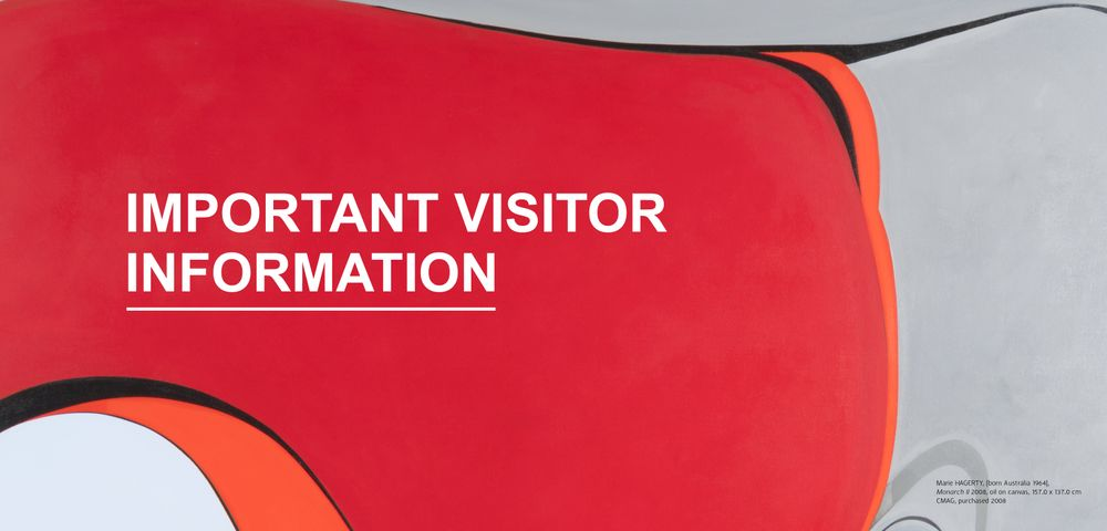 Important visitor information