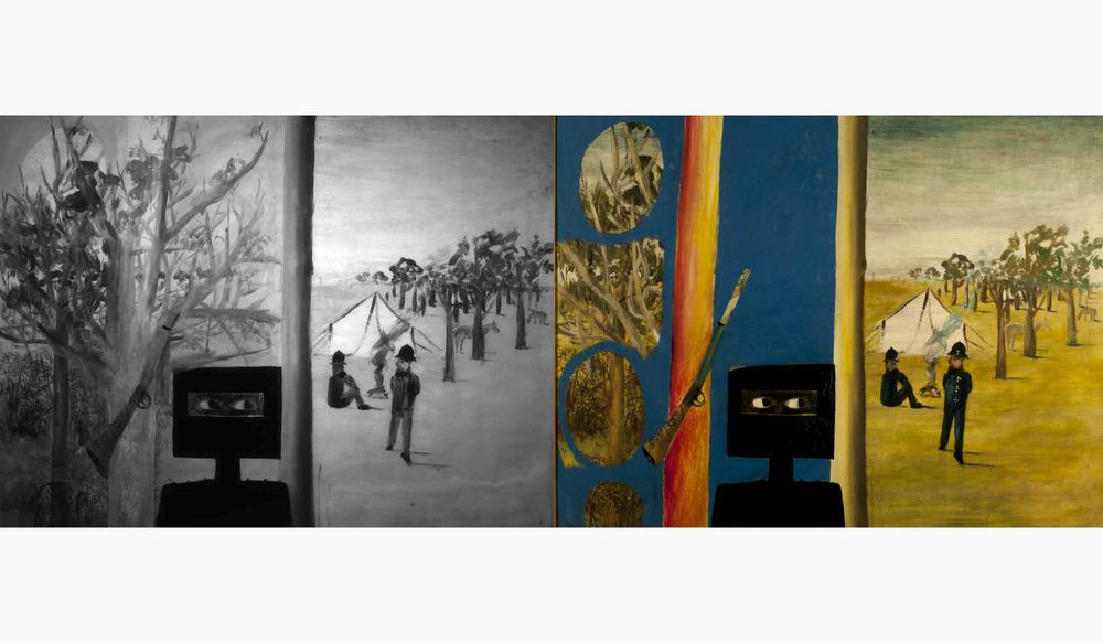 Guest Speaker: Unmasking Nolan's hidden paintings with Dr Paula Dredge