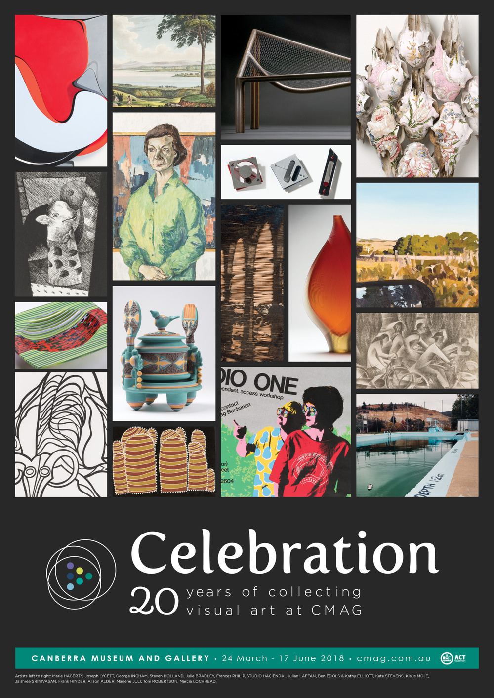 Celebration: 20 years of collecting visual art at CMAG