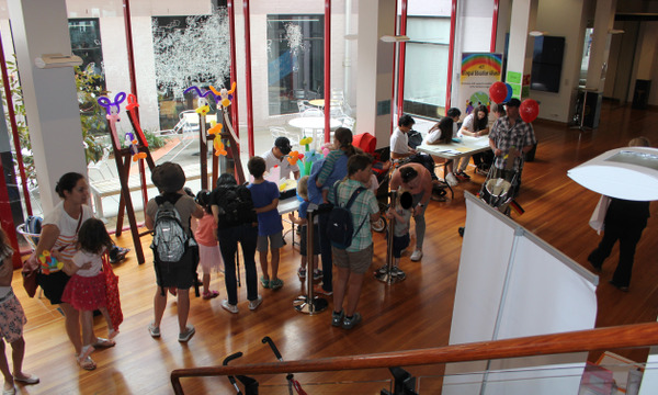 National Multicultural Festival Family Spaces at Canberra Museum and Gallery, Civic Library and Glebe Park